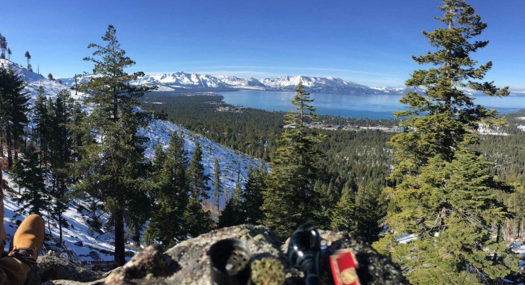 bowl at lake tahoe panorama