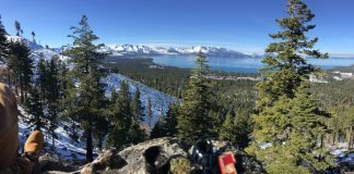 bowl at lake tahoe panorama