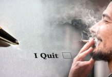quitting work